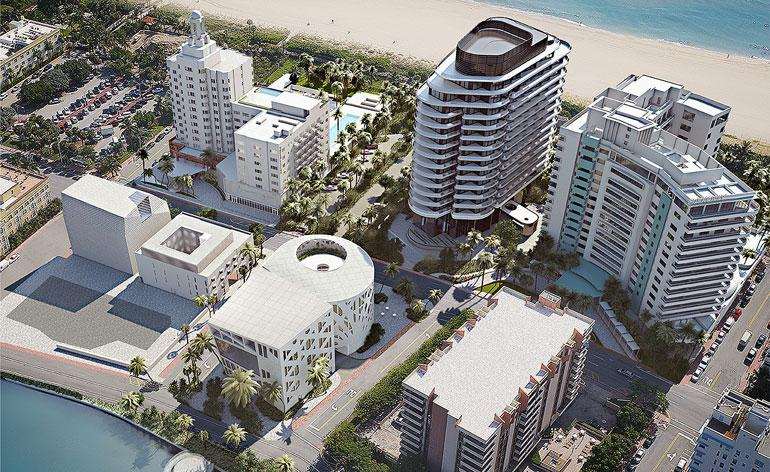 Street view: Faena District in Miami Beach