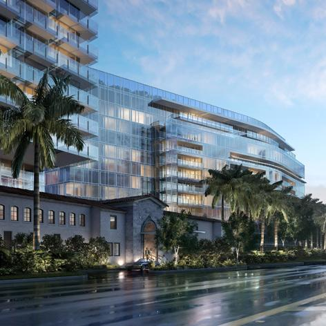 Miami's Surf Club to be revived and extended with a new hotel and residences designed by Richard Meier