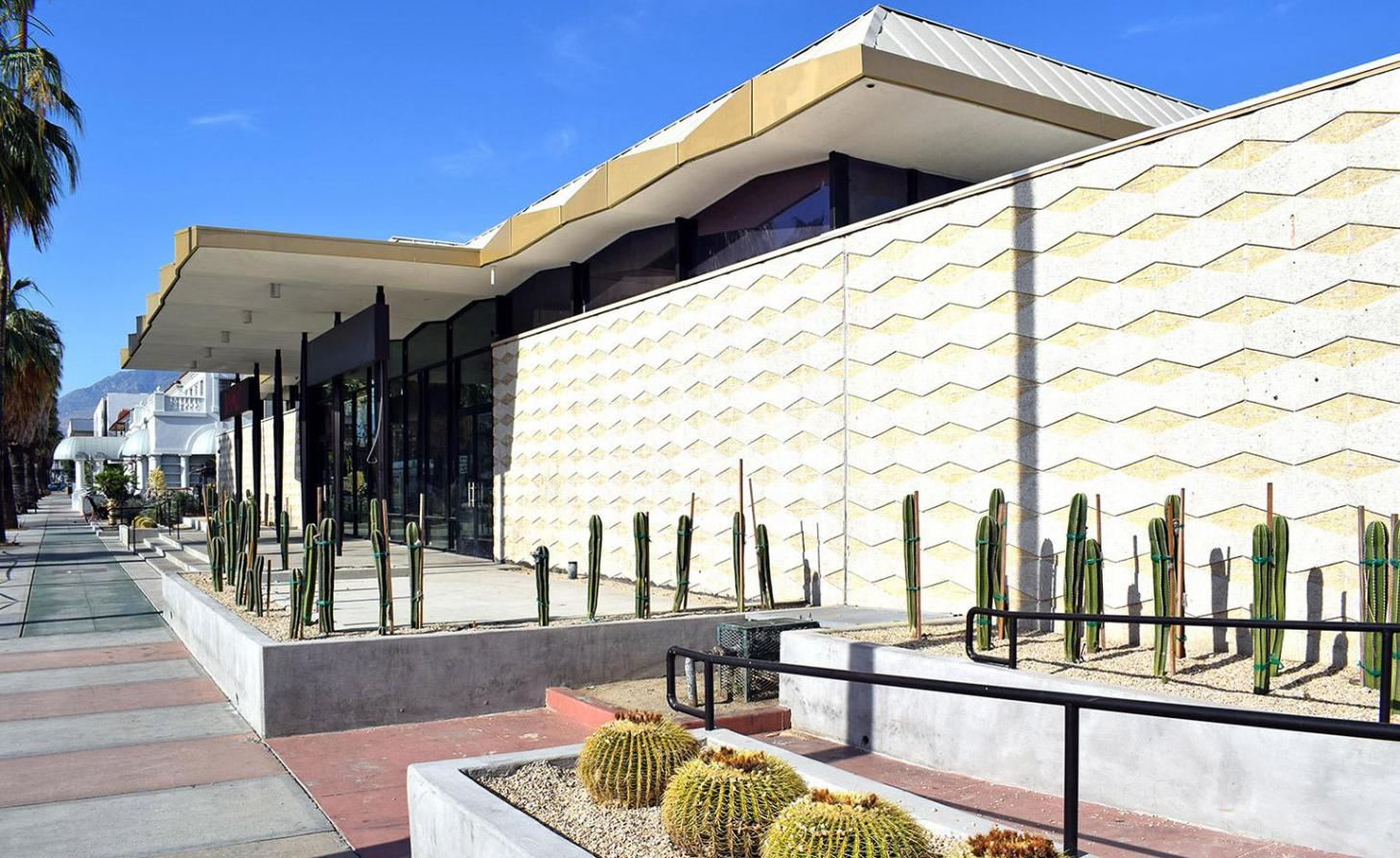 William Pereira Robinson's department store Palm Springs renovated