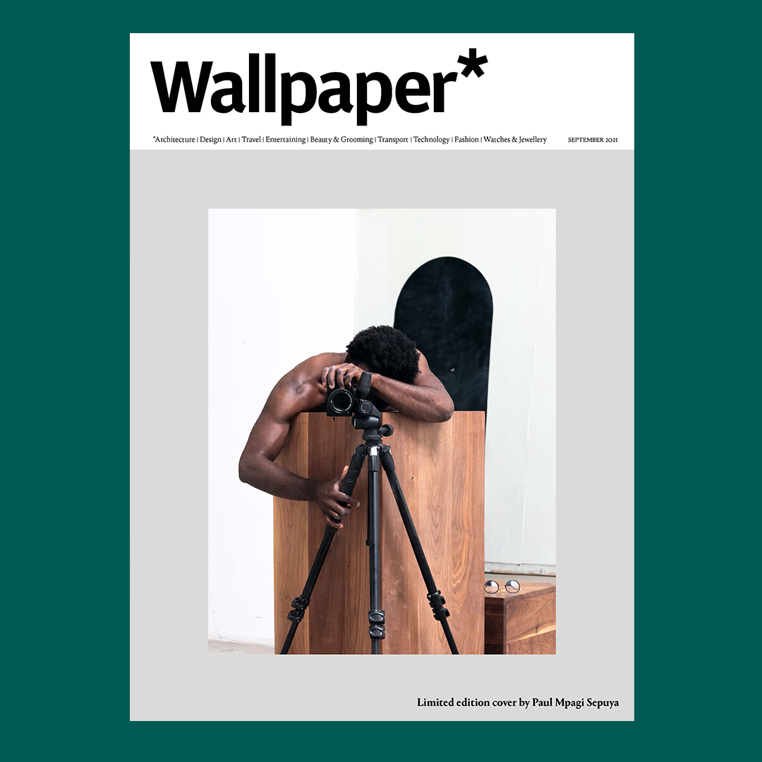 Paul Mpagi Sepuya's limited-edition cover for the September 2021 issue(available to subscribers) features Pedestal (_1180272), 2021, a self-portrait created exclusively for us and shot in the artist's LA's studio