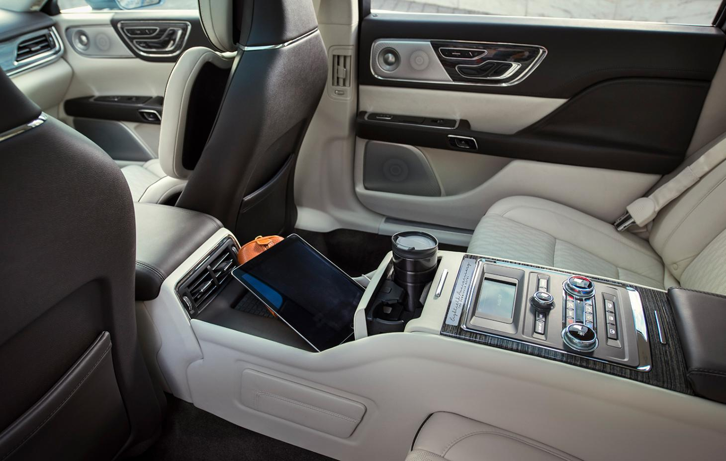 Inside the Lincoln Continental 80th anniversary edition model