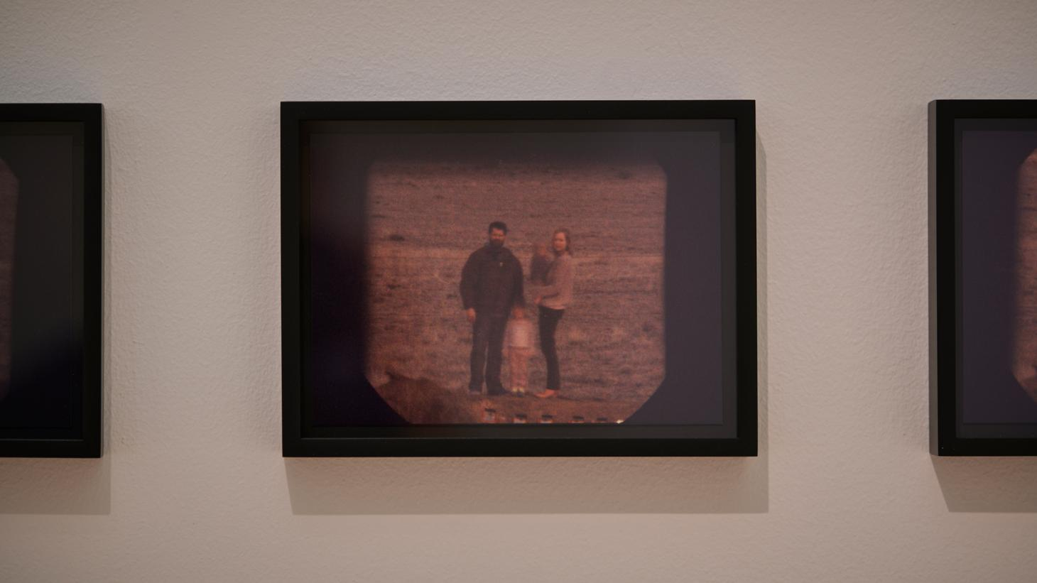 Matthew Day Jackson,Commissioned Family Photo (2013),82 framed photos