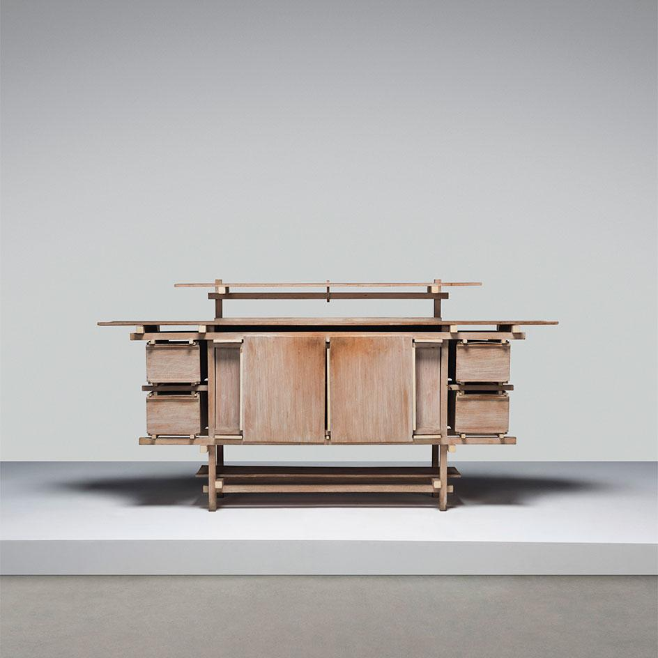 A rare 'Elling' sideboard, designed 1919, executed circa 1962-1965