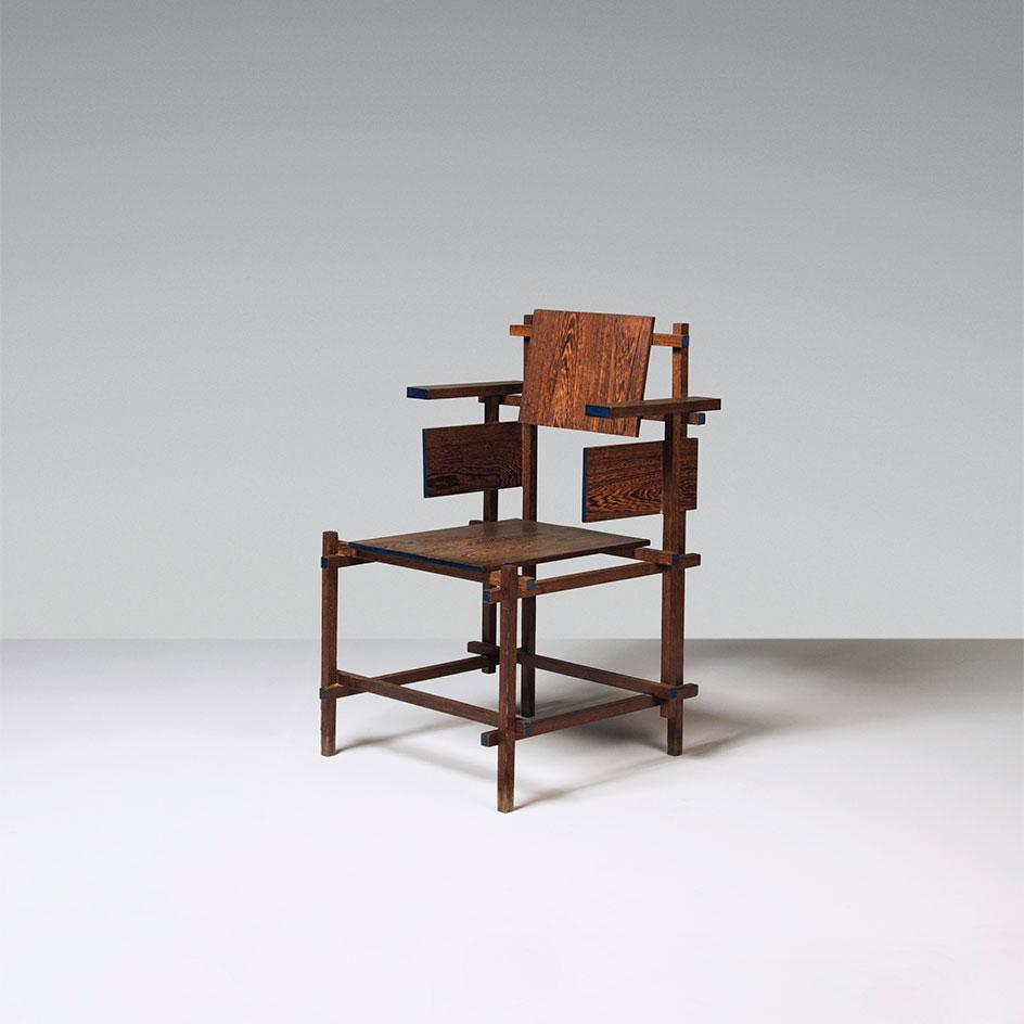 A 'Hoge' armchair, designed 1919, executed circa 1962-1964