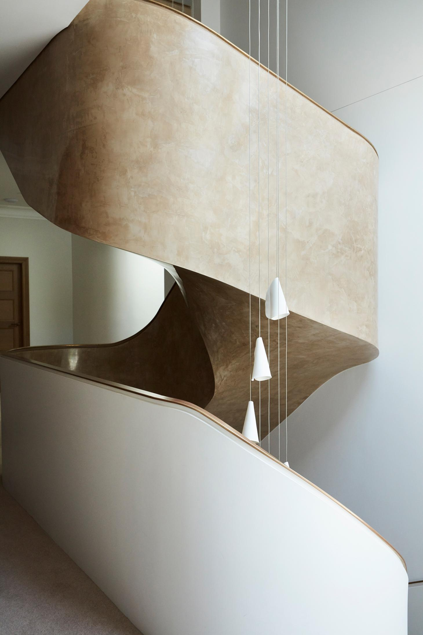 Sculptural staircase