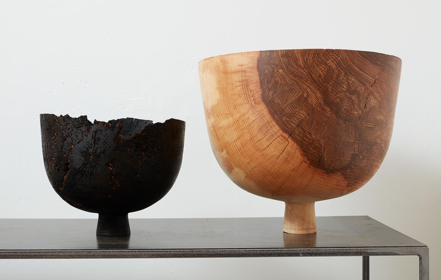 max bainbridge oak vessels at Make gallery