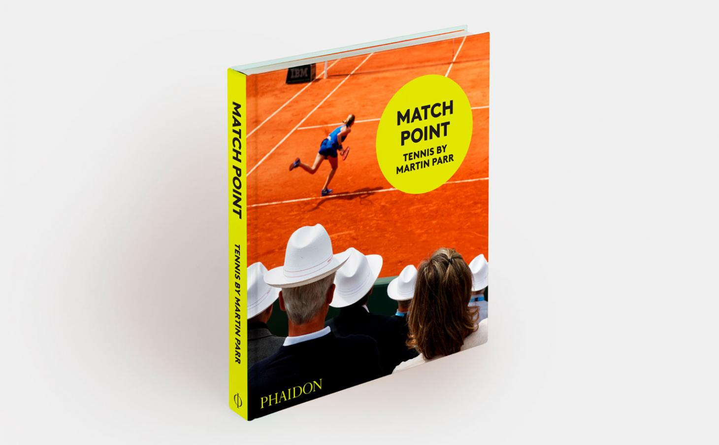 Tennis with Martin Parr, by Martin Parr is published by Phaidon on 9 September, £39.95