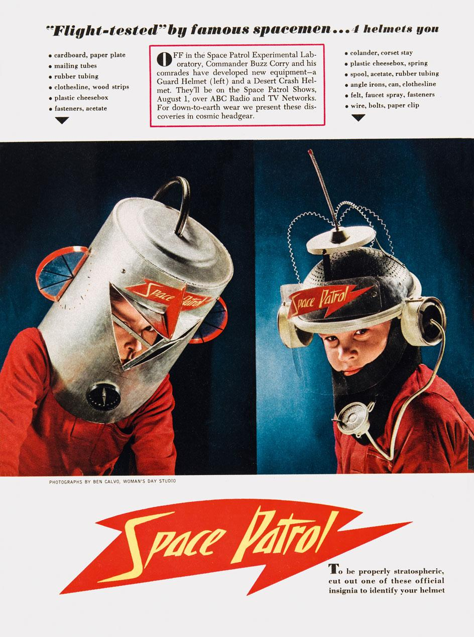 Space Patrol headsets from Toys. 100 Hundred Years of All-American toy advertising