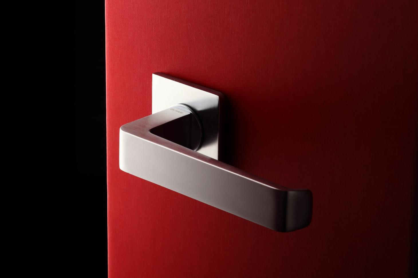 Door handle by Antonio Citterio for Olivari