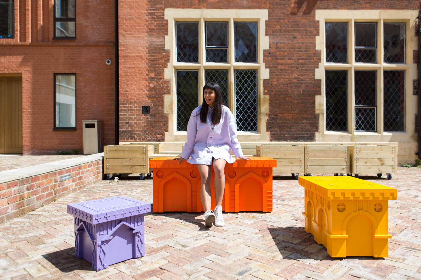 Monuments To Mingling By Sohanna Srinivasan In Collaboration With Joyce And Joyce Joinery And A Small World for the 2021 LFA Benches competition