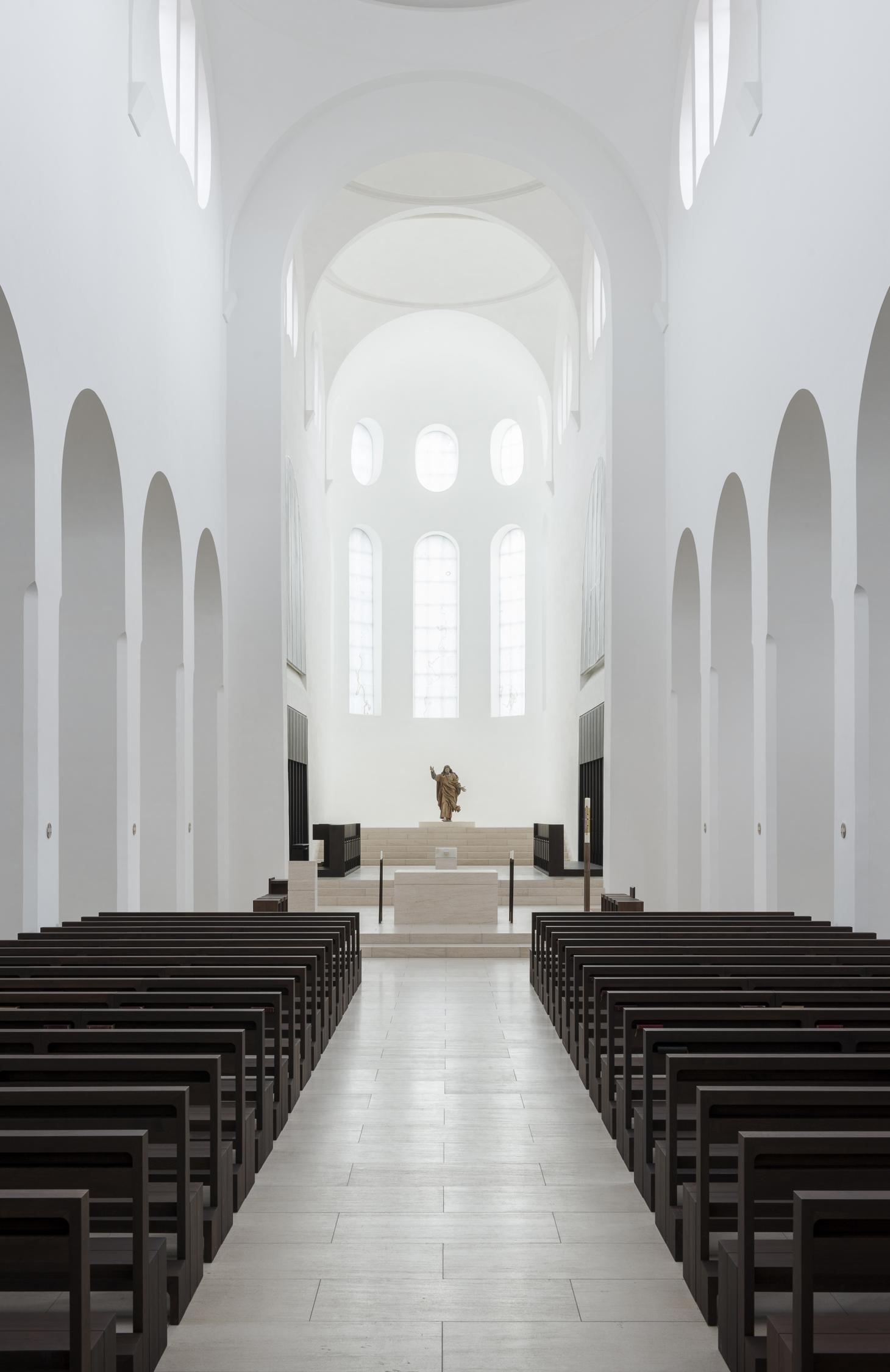 John Pawson church interior
