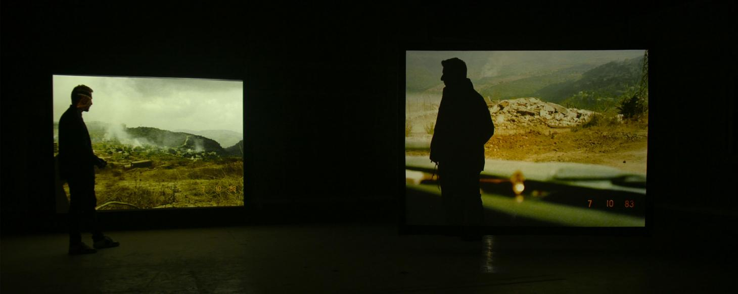 Still from Once Removed, 2019, by Lawrence Abu Hamdan, commissioned by Sharjah Art Foundation at Maureen Paley