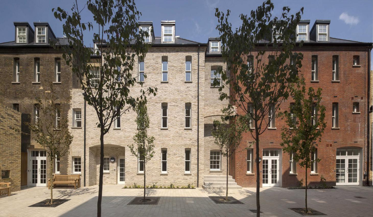 Mount Pleasant Homeless Shelter by Peter Barber Architects
