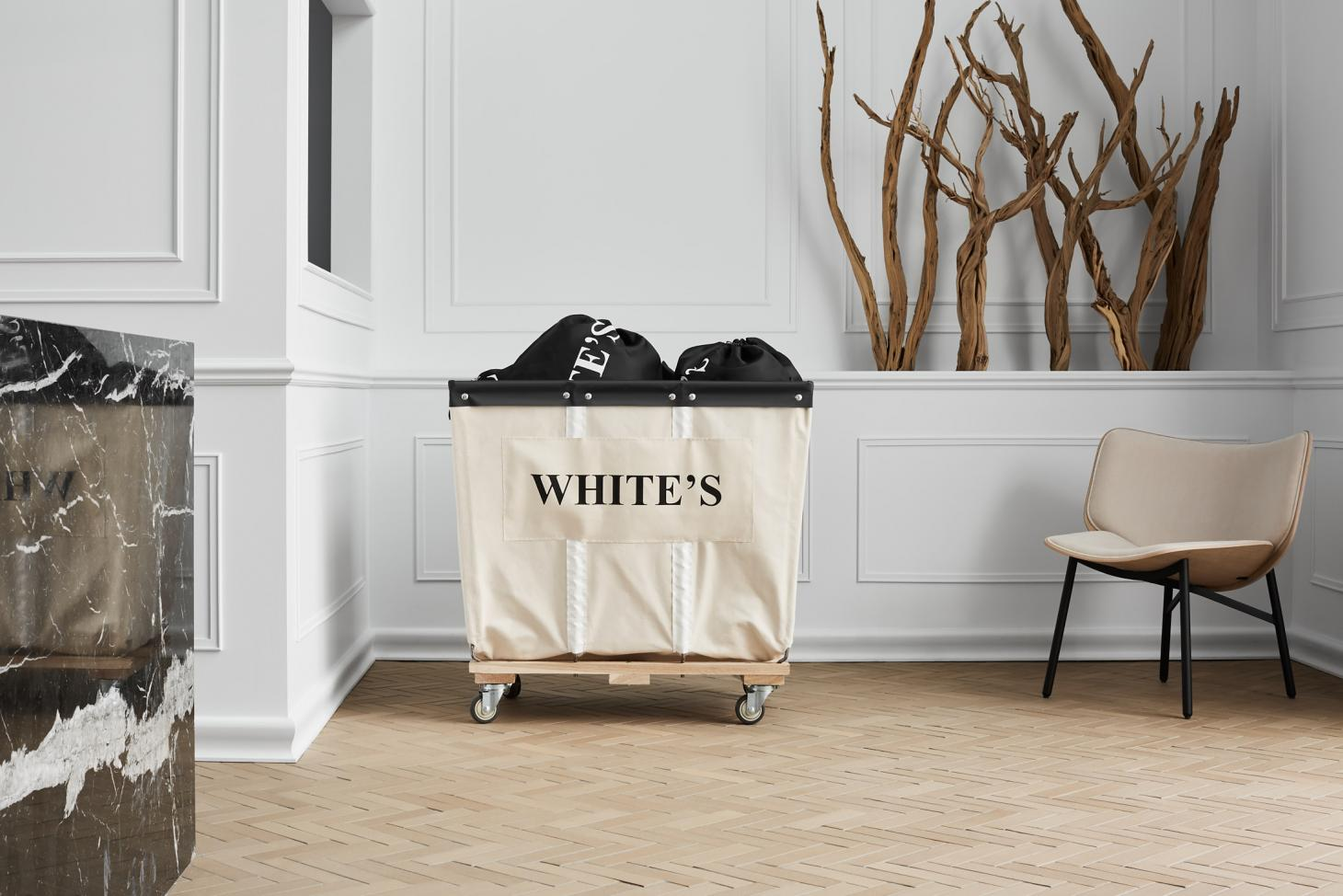White's laundry in Montreal