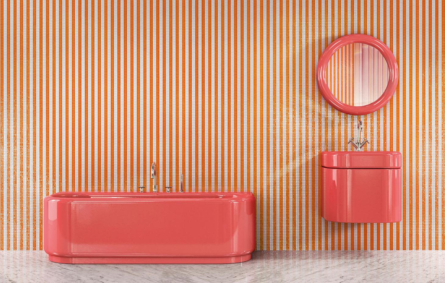 India Mahdavi Bagno collection for Bizazza