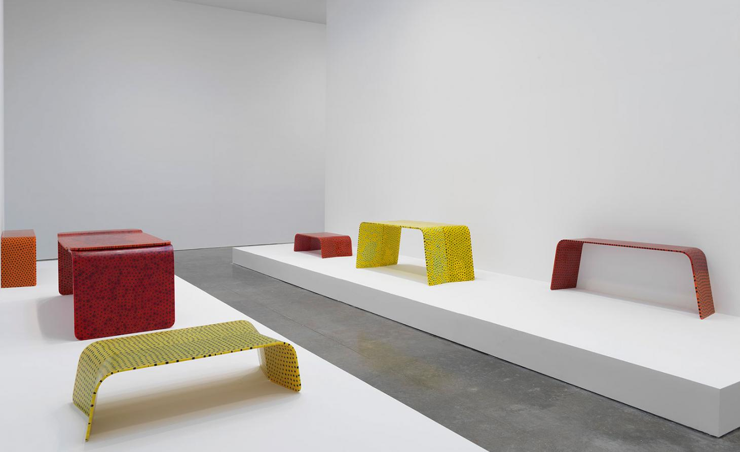 marc newson solo show at Gagosian in New York