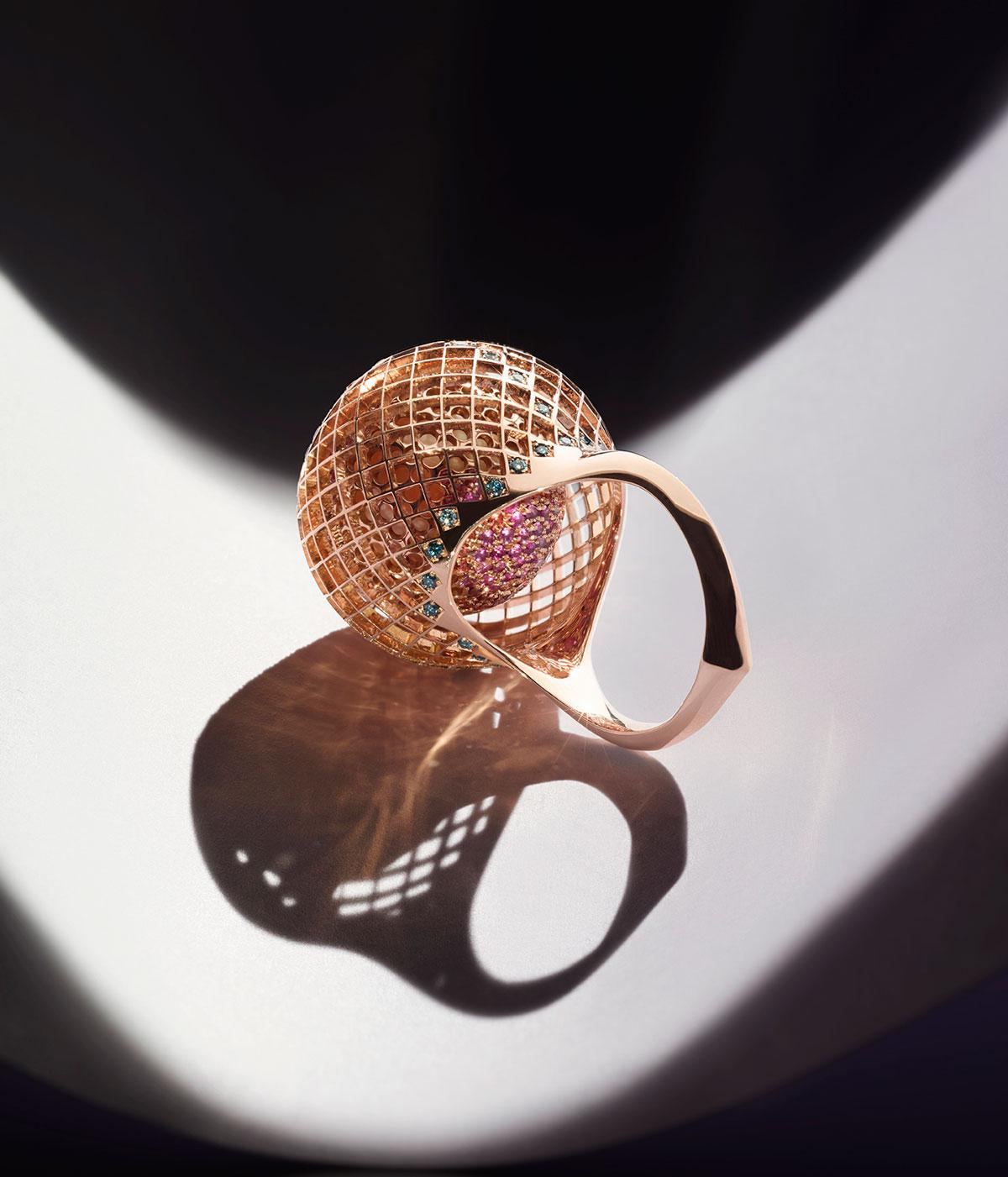 Nigel O'Reilly lace ring