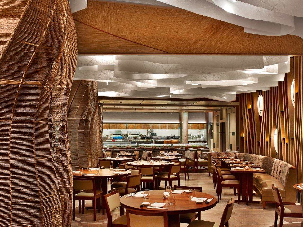 Inside Nobu Miami restaurant