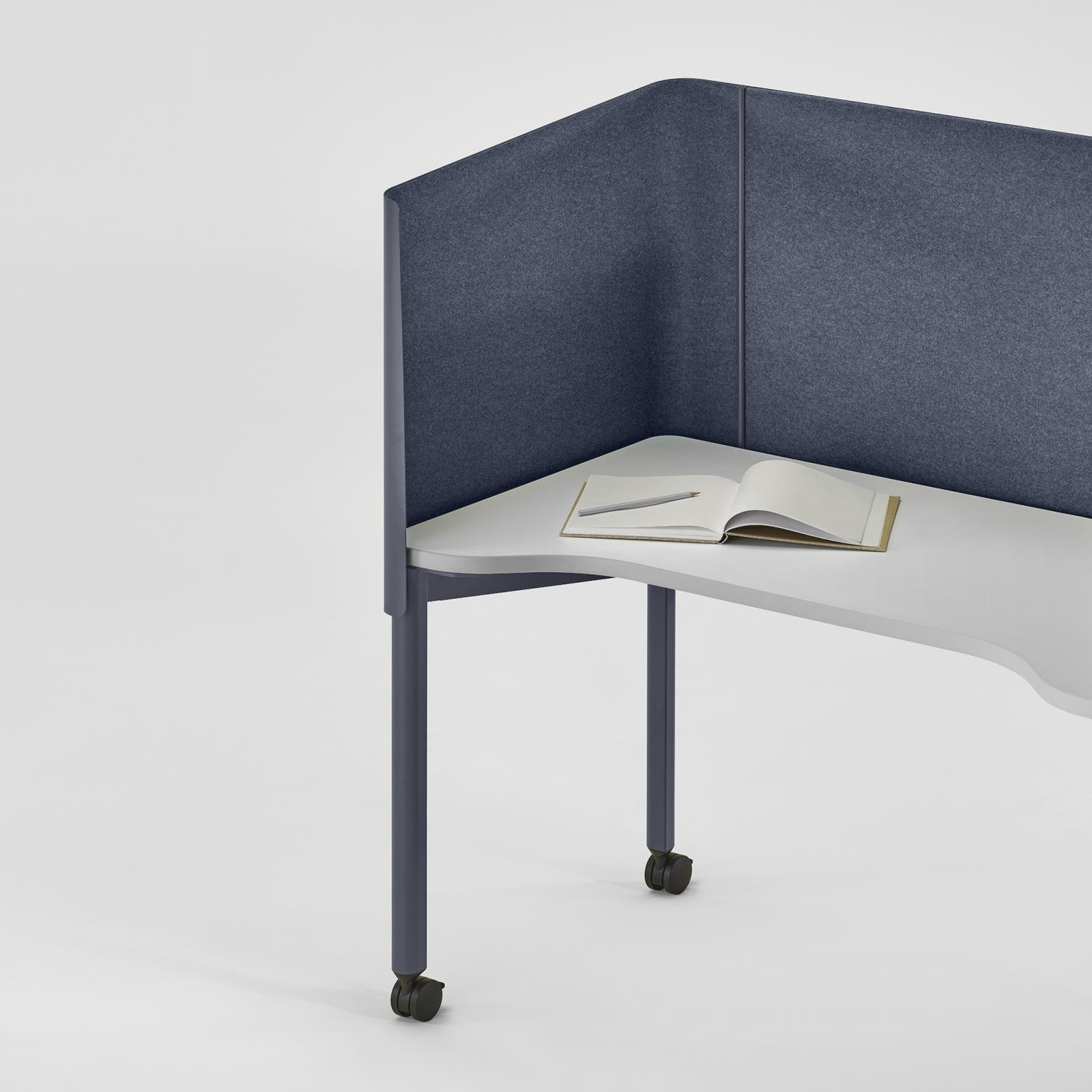 OE1 office furniture collection by Industrial Facility for Herman Miller