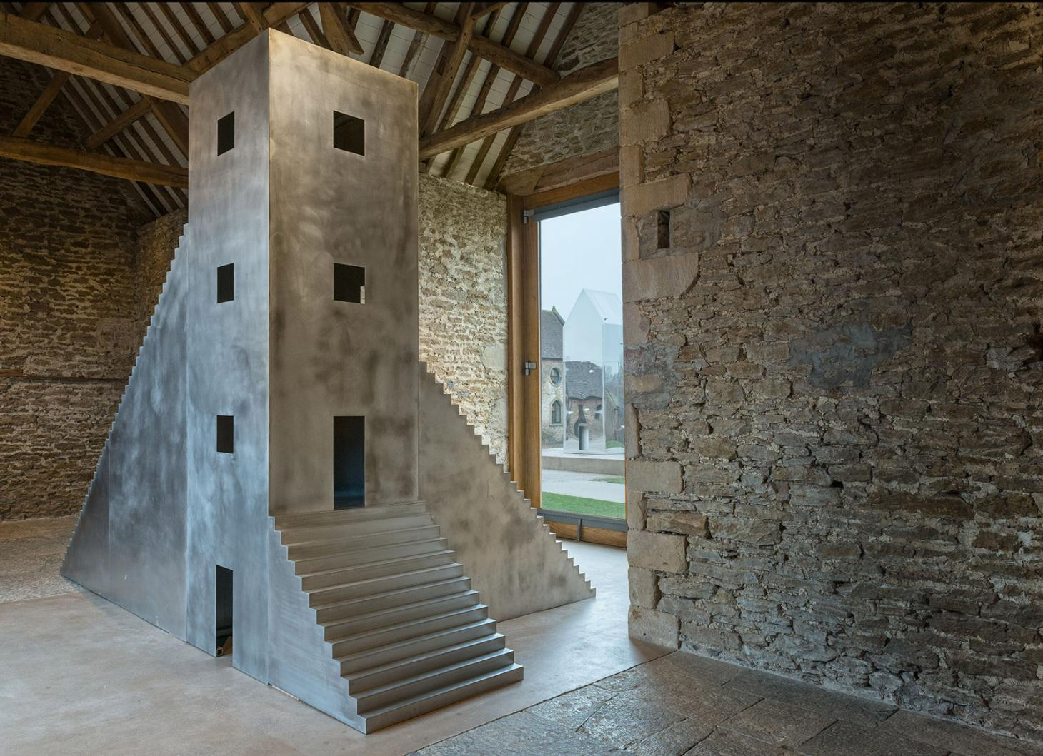 House to Watch the Sunset by Not Vital at Hauser & Wirth Somerset