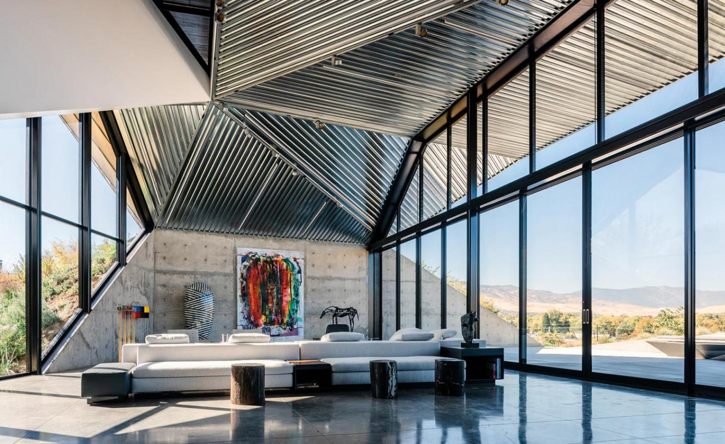 Shapeshifter House, Reno, US, by OPA