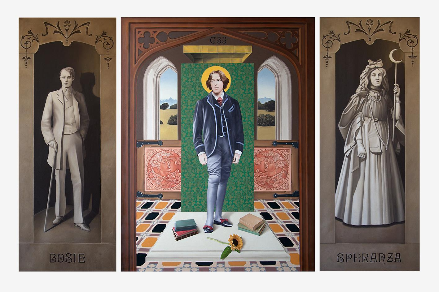 Image result for oscar wilde temple