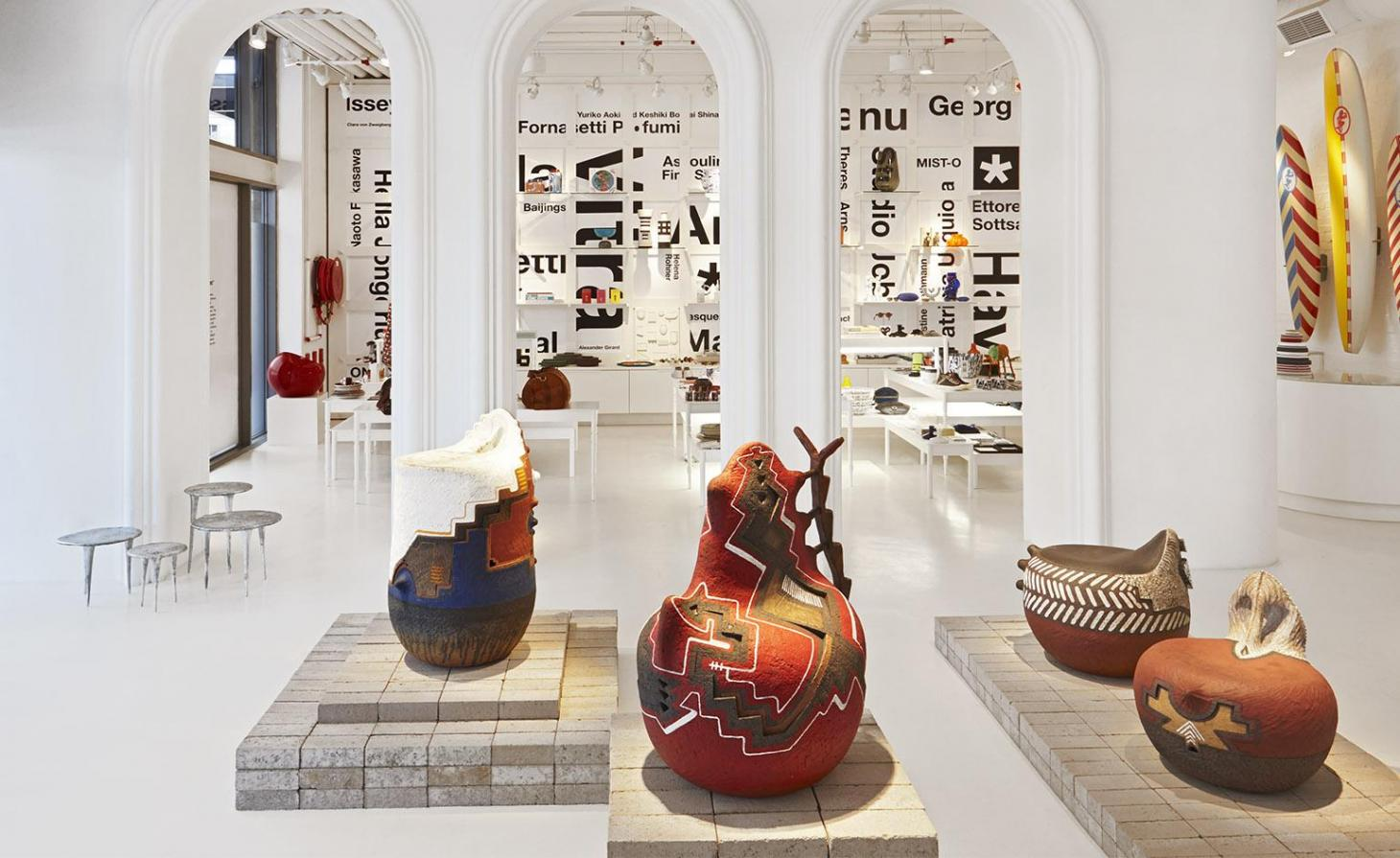 Ceramics at the WallpaperSTORE* pop-up at The Guild Group's V&A Waterfront flagship