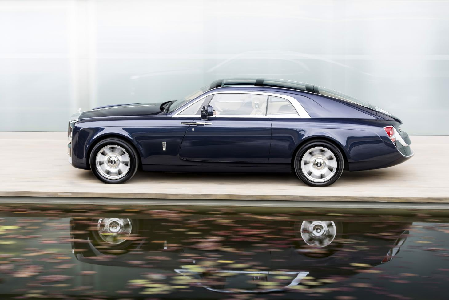 The 2017 Rolls-Royce Sweptail