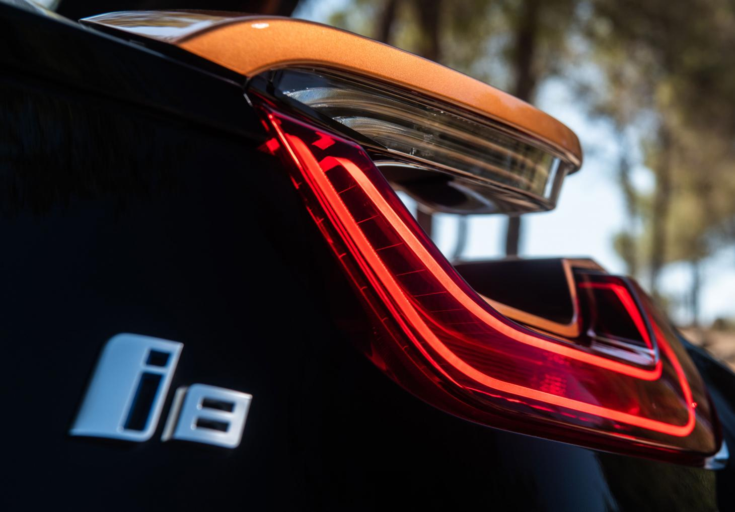 Taillight of BMW i8 Roadster