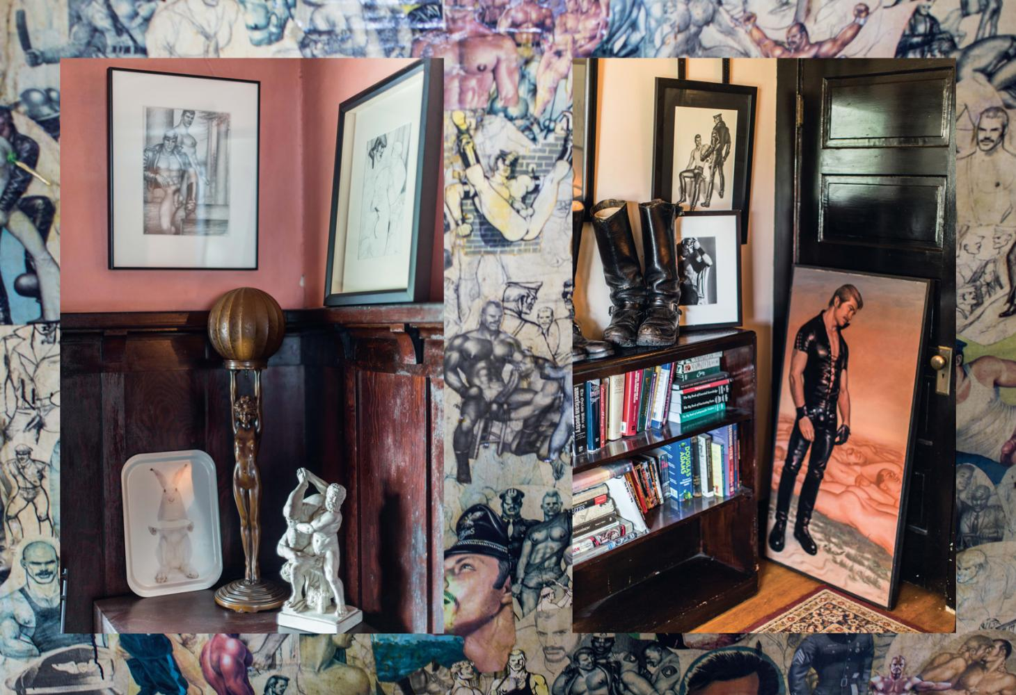 Inside the temple to Tom of Finland in LA