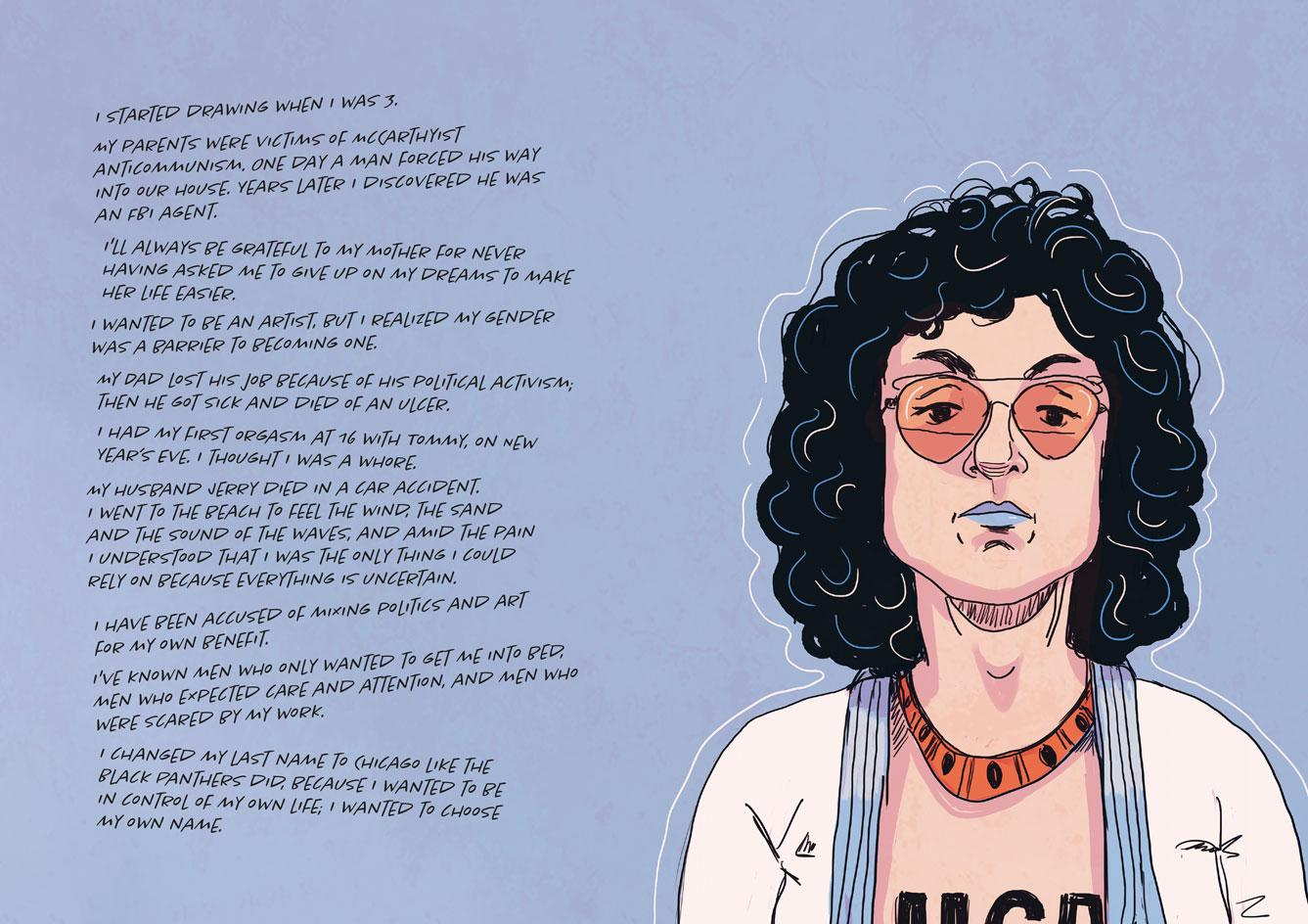 The Women Who Changed Art Forever – Feminist Art Graphic Novel, by Valentina Grande and Eva Rosetti, published by Laurence King