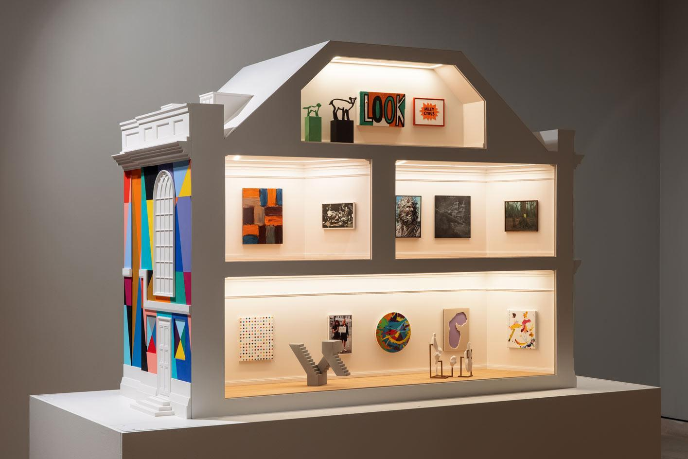 The 2021 Model Art Gallery' at Pallant House Gallery, featuring miniature artworks by leading artists, the best art exhibitions to see in the UK