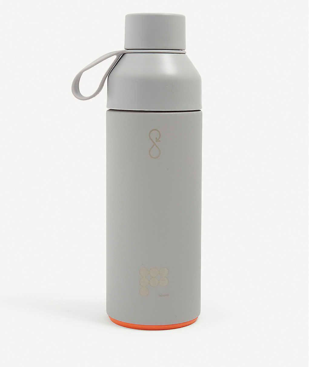 Ocean Bottle x Pangaia text-print recycled stainless-steel and recycled ocean-bound plastic bottle