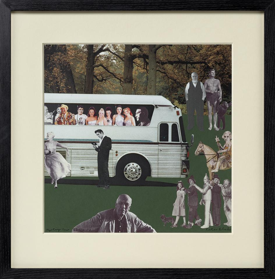 Mystery Tour £2. 10s. 0d, by Peter Blake