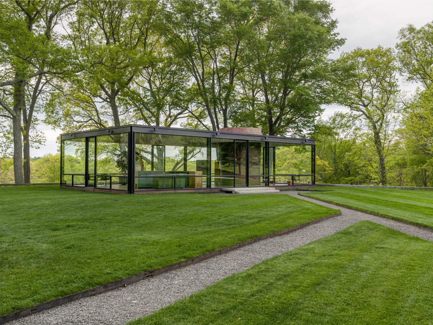 Philip Johnson and the Glass House