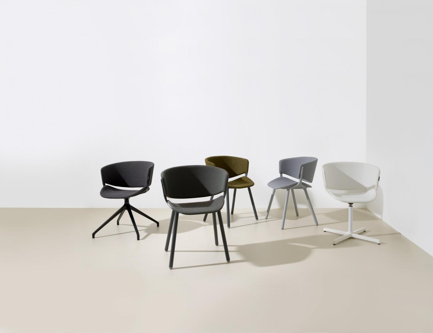 Sustainable office furniture by Luca Nichetto for Offect