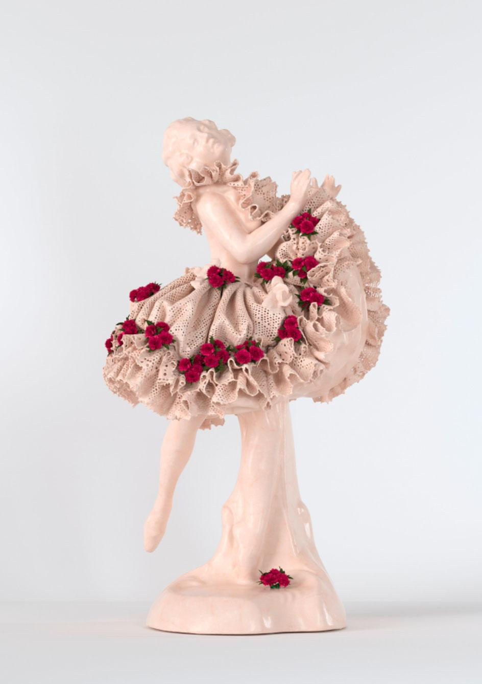 New work Pink Ballerina by Jeff Koons, as seen in his MasterClass lesson