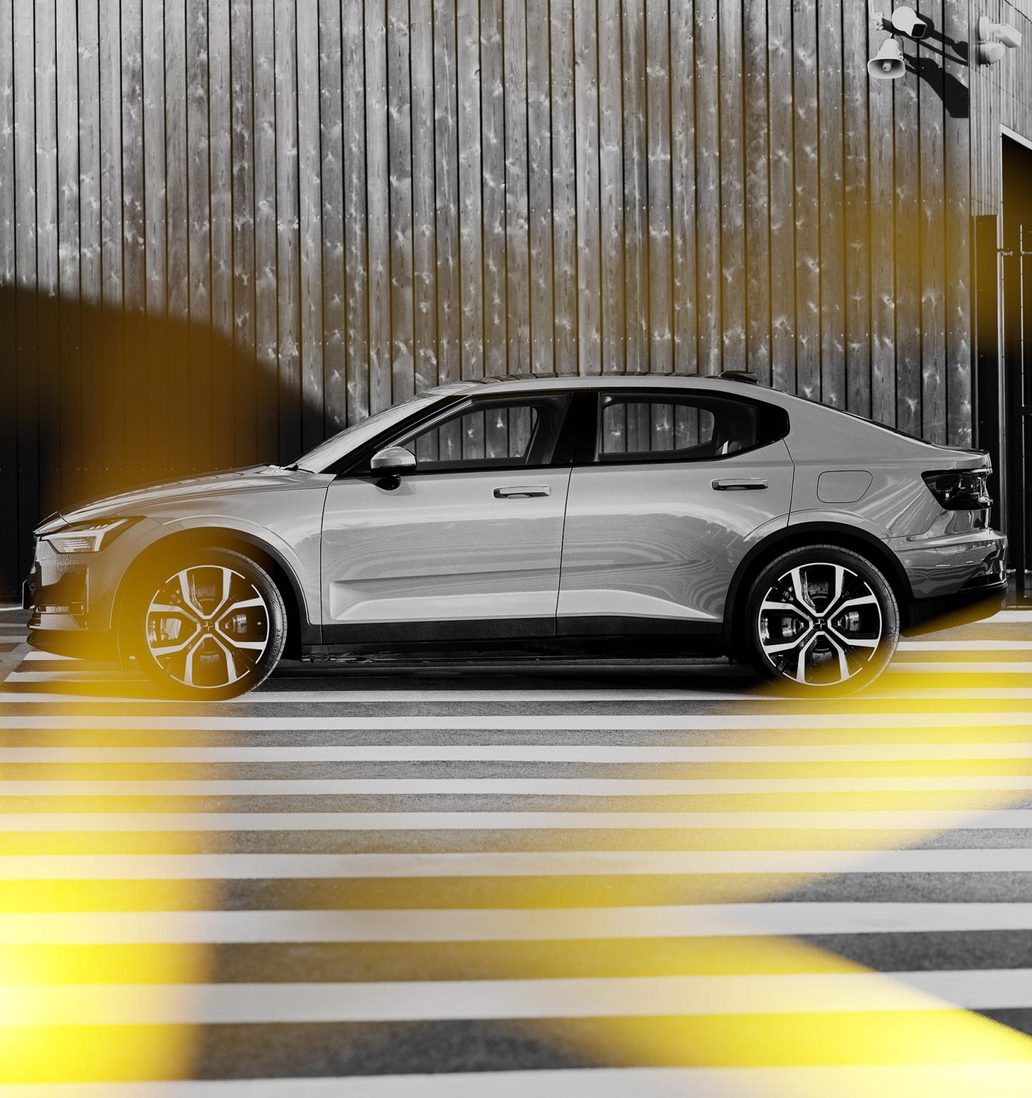 Polestar 2, photographed by Leon Chew