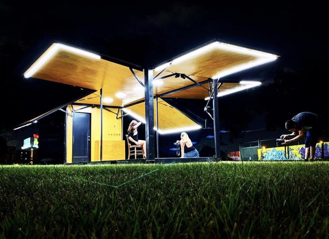 Mobile Architecture pop up by Germane Barnes