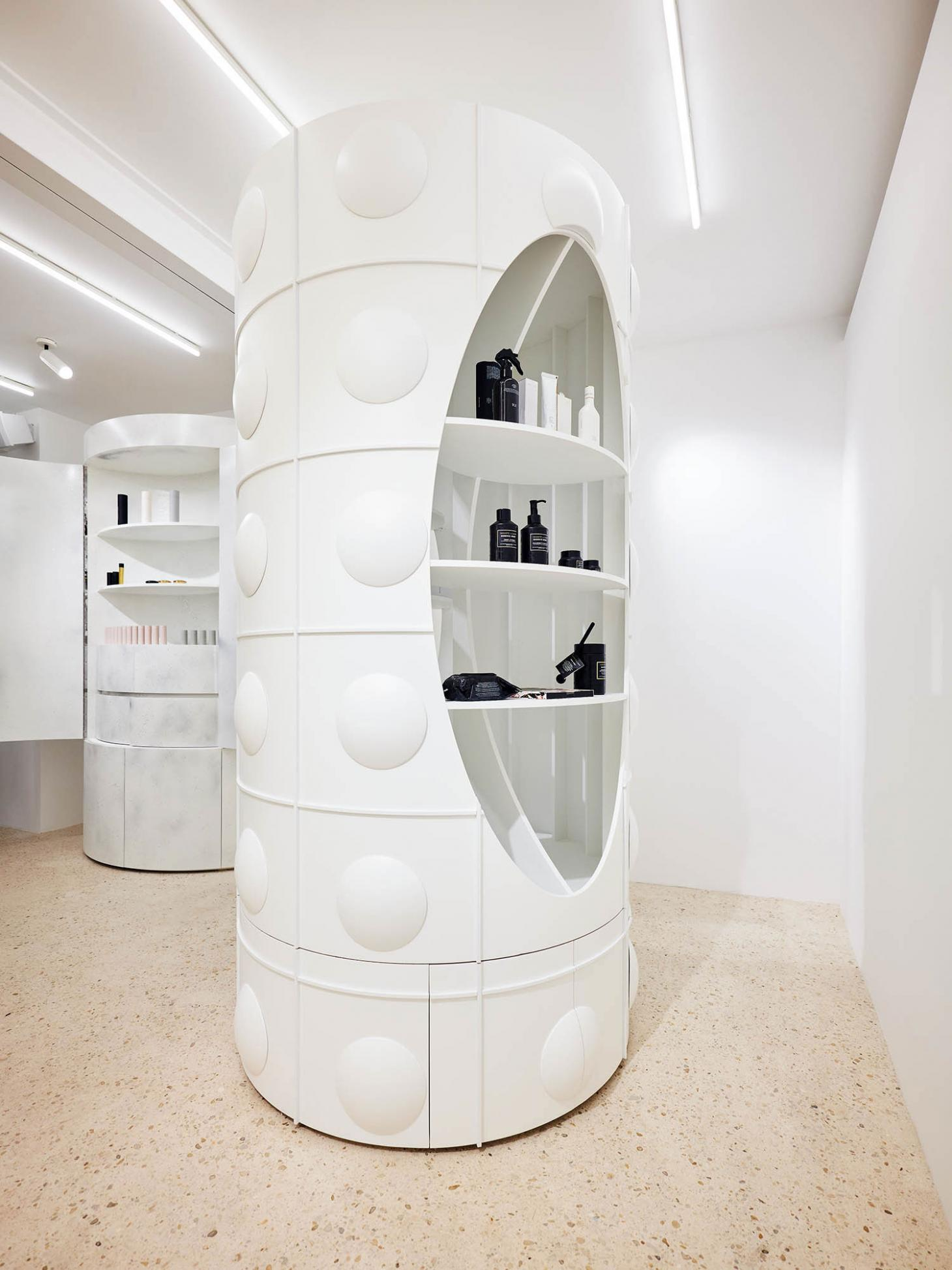 Dover Street Parfums Market, Paris interior
