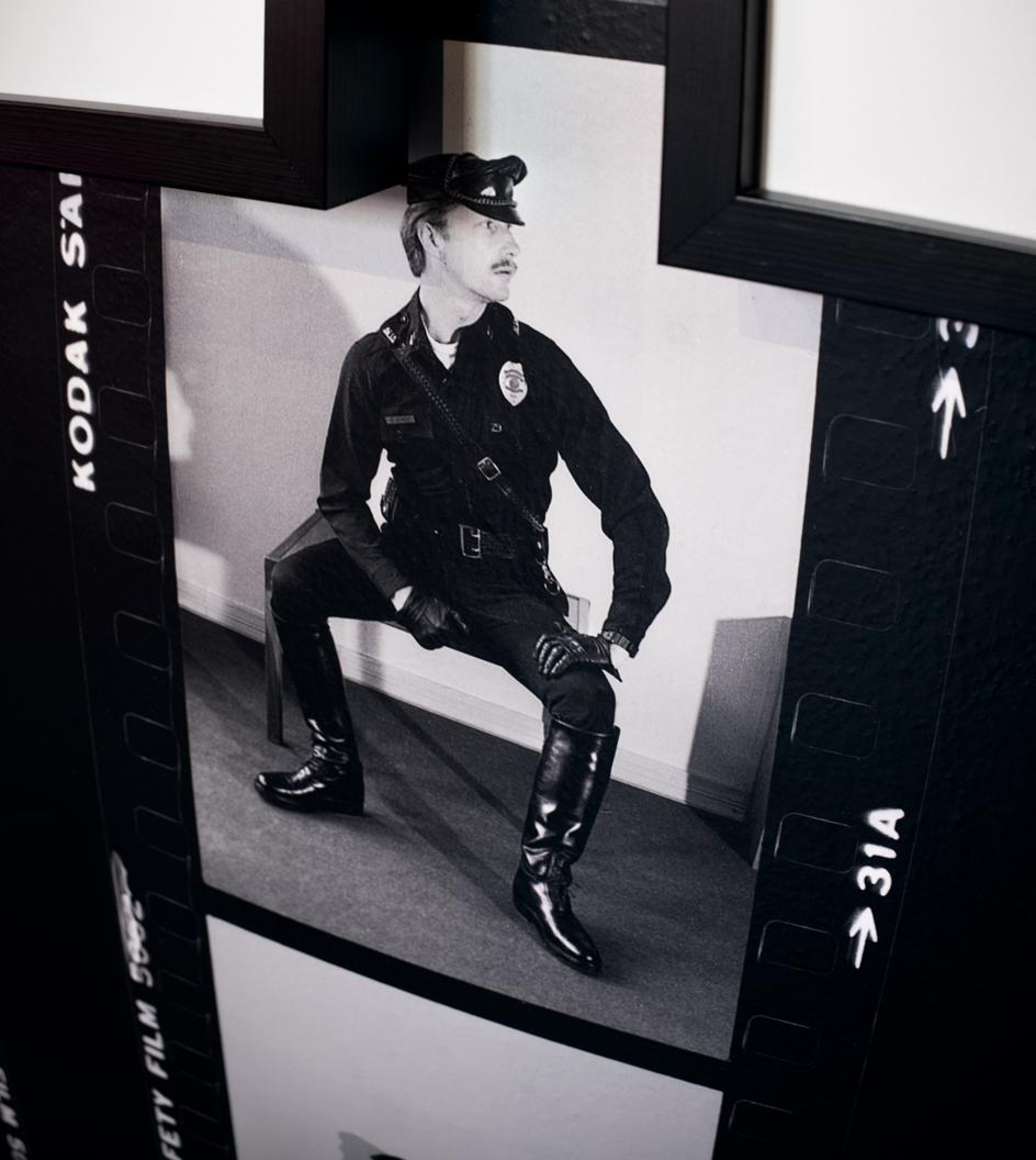 Photographic study of Durk Dehner, c. 1970s, model, muse and cofounder of the Tom of Finland Foundation.