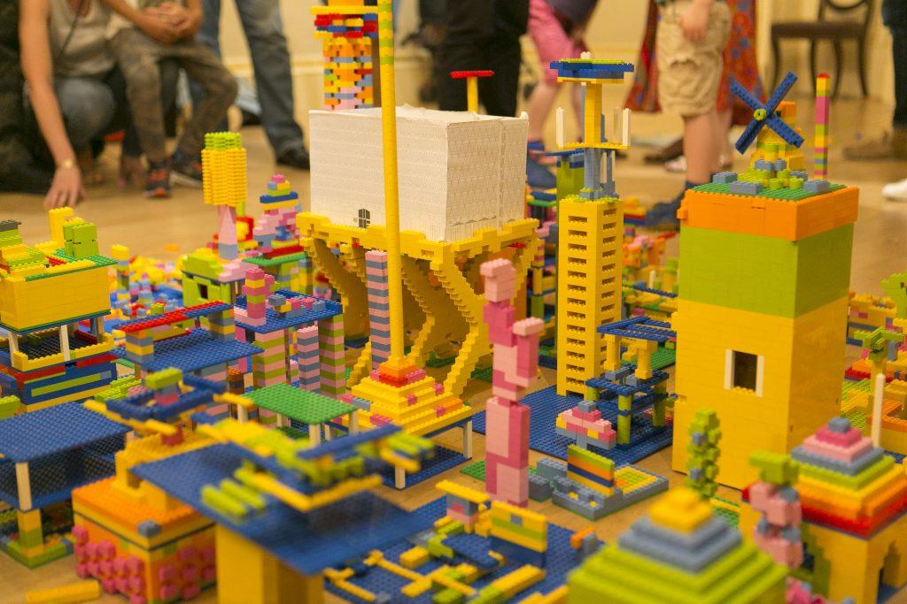 the A lego challenge is part of the 2021 London festival of architecture programme