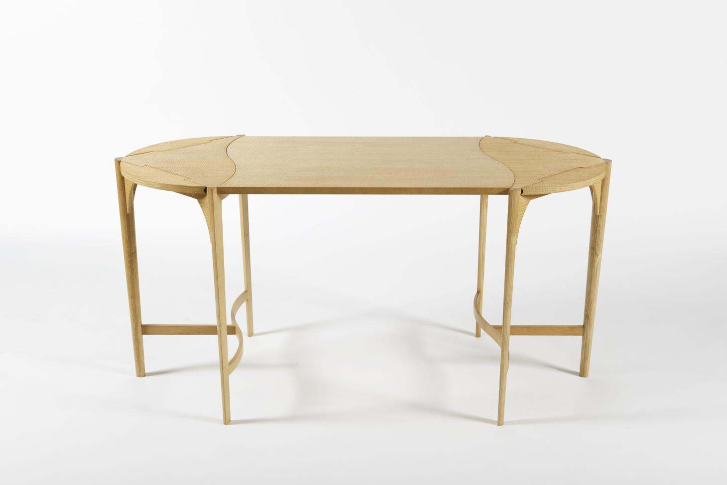 Okeanis table by Rena Dumas reissued by The Invisible Collection and RDAI
