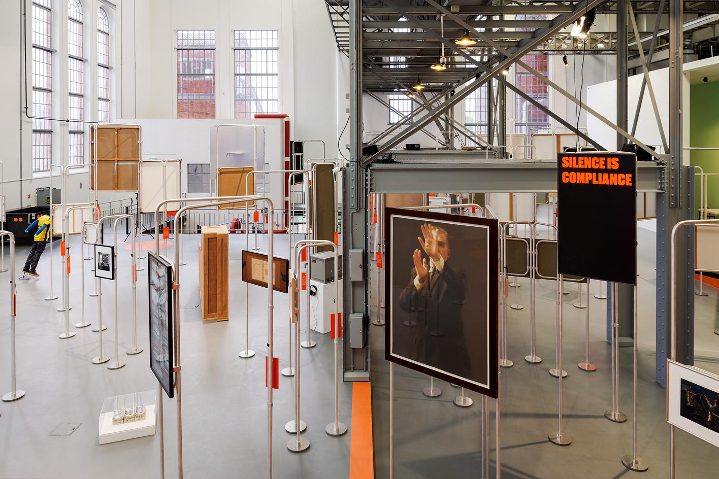 Installation view of 'Rehearsal for a Community',MAAT – Museum of Art, Architecture and Technology.Photography: Daniel Malhão, part of the best art gallery conversions in Europe