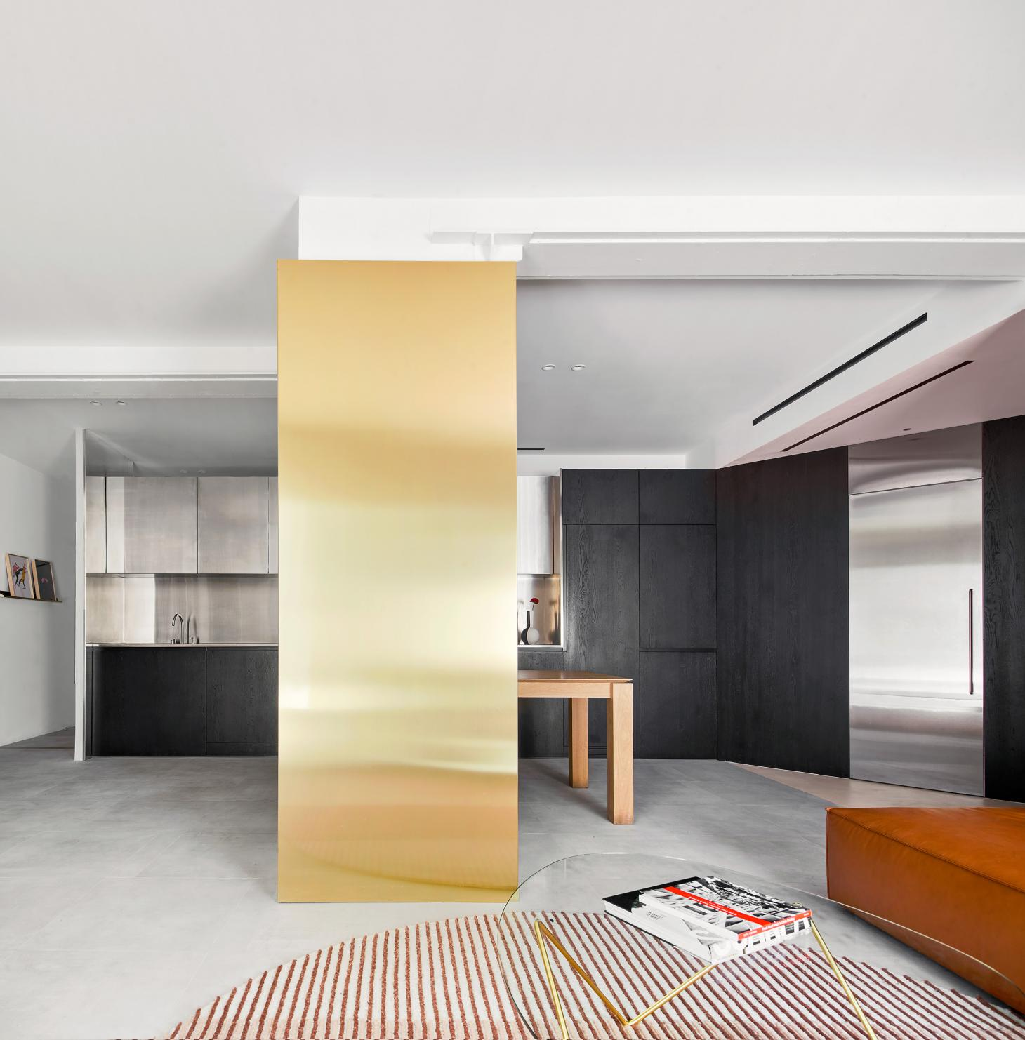 this raw materials composition in a Barcelona interior in the own apartment of architect Raul Sanchez
