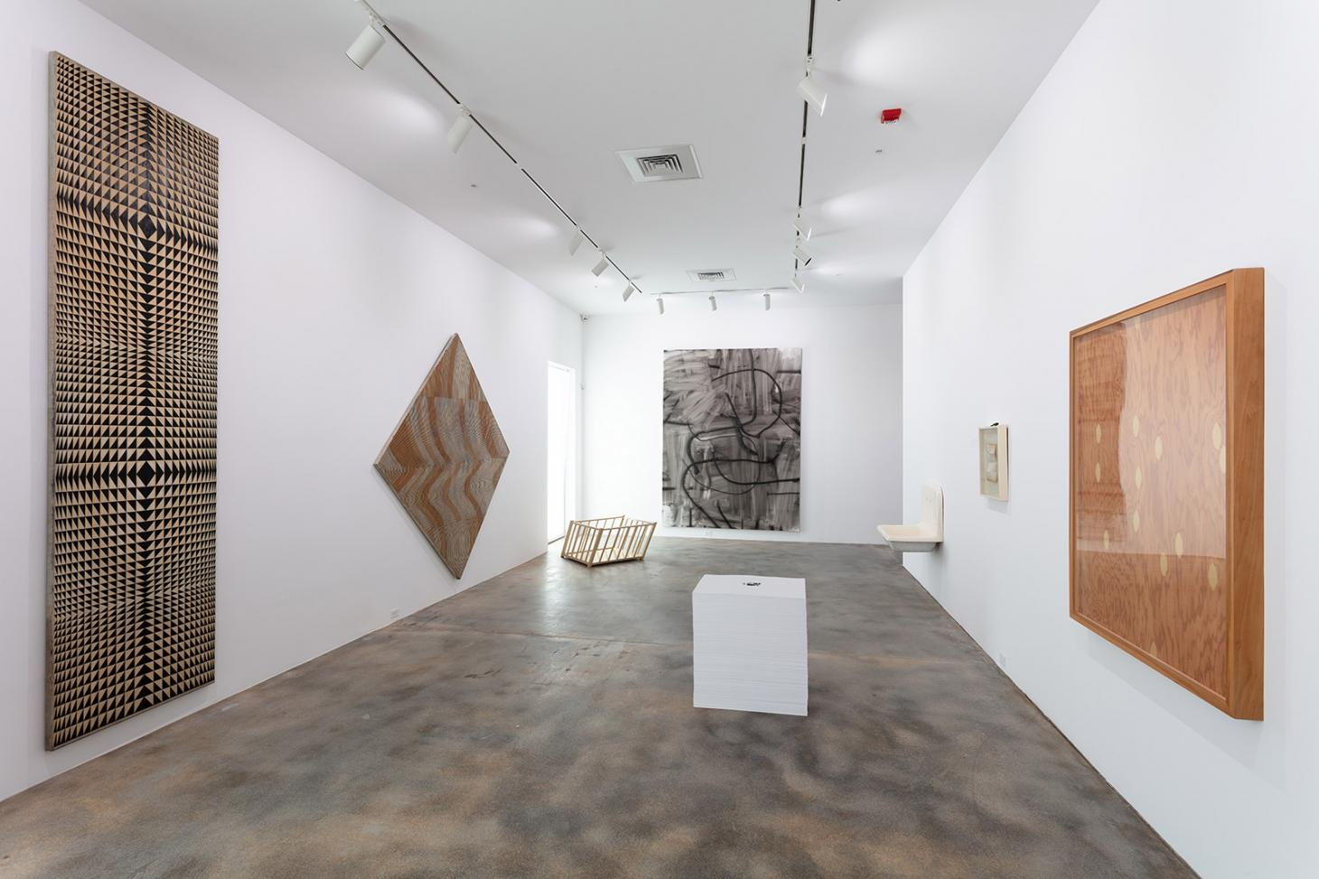 Installation view of inaugurating exhibition at Rubell Museum, by Selldorf Architects