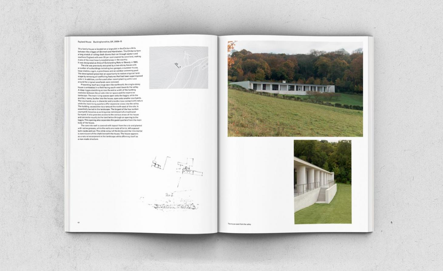 David Chipperfield monograph designed by John Morgan Studio
