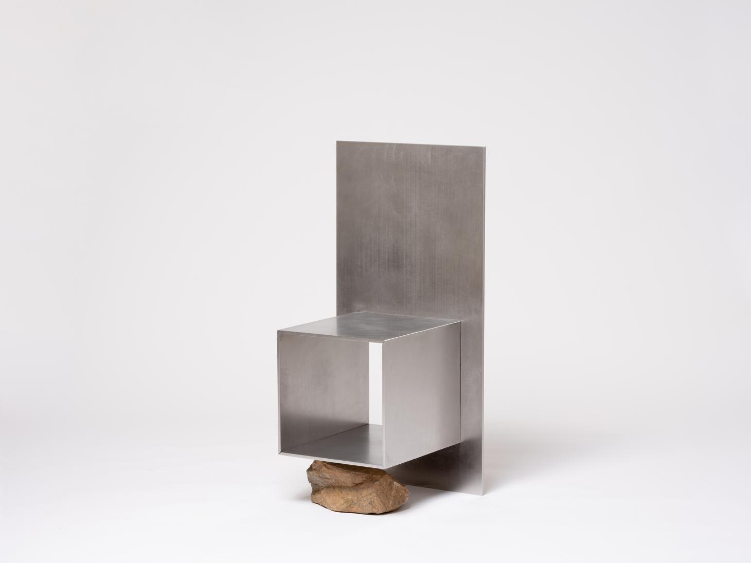 Chair in stone