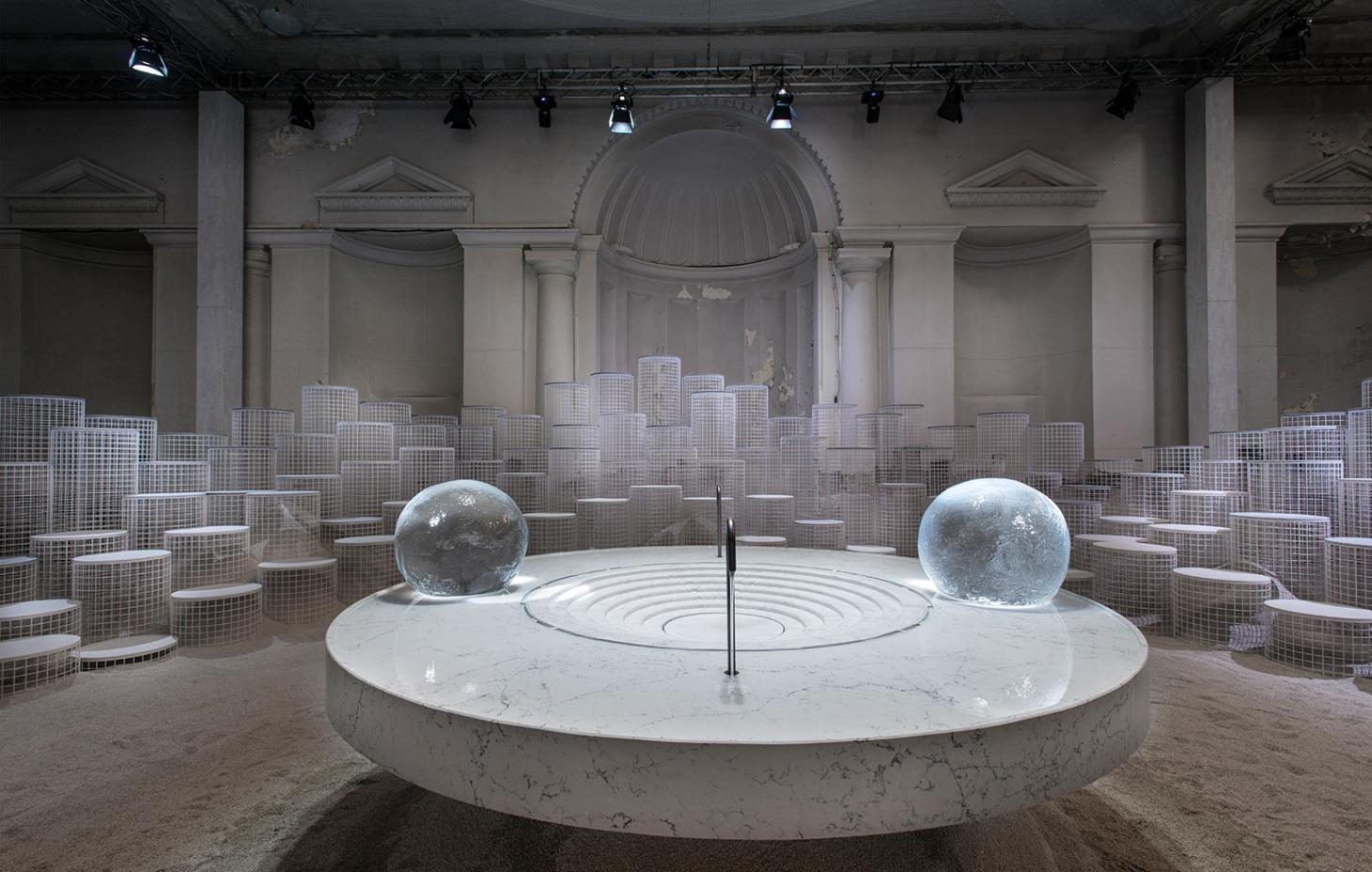 Caesarstone installation by snarkitecture at Salone