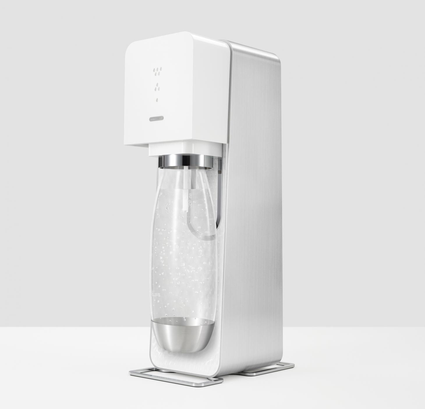 Yves Bahar's white Soda Stream